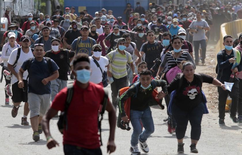 migración de hondureños a EEUU