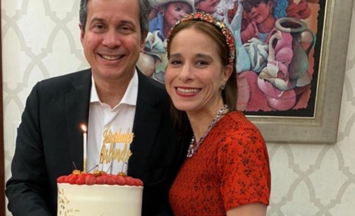 Orlando Jorge Mera y Patricia Villegas