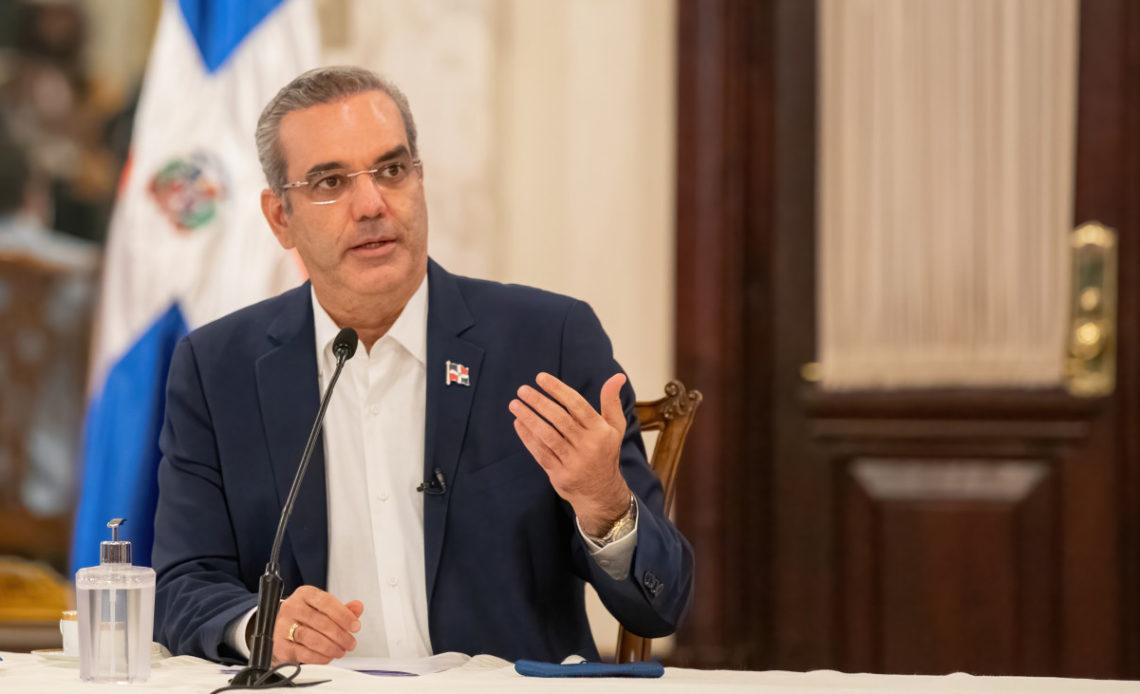 Luis Abinader, presidente de la República