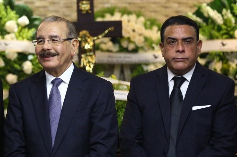 Danilo Medina y Alexis Medina