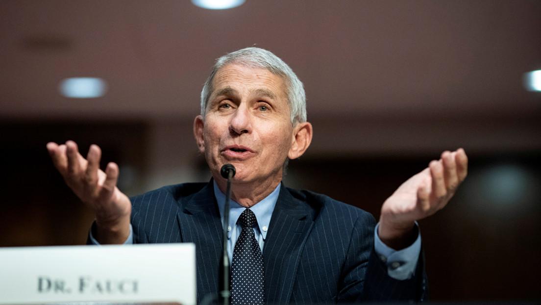 El principal epidemiólogo de EE.UU., el doctor Anthony Fauci