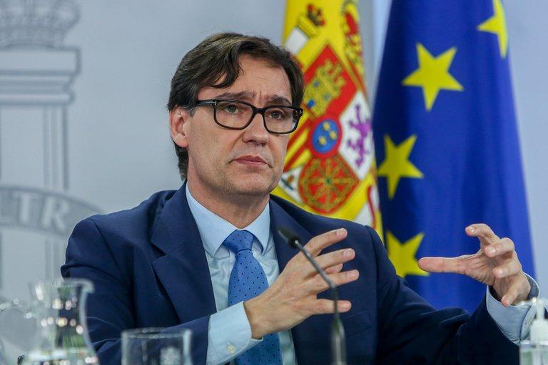 Ministro de Salud en España.