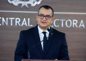 Román Jáquez Liranzo, presidente de JCE.