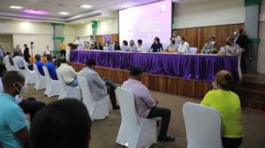 Asamblea informativa en San Pedro de Macorís.