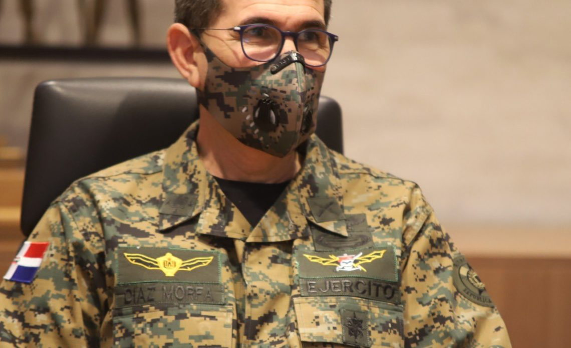 Carlos Luciano Díaz Morfa, ministro de Defensa