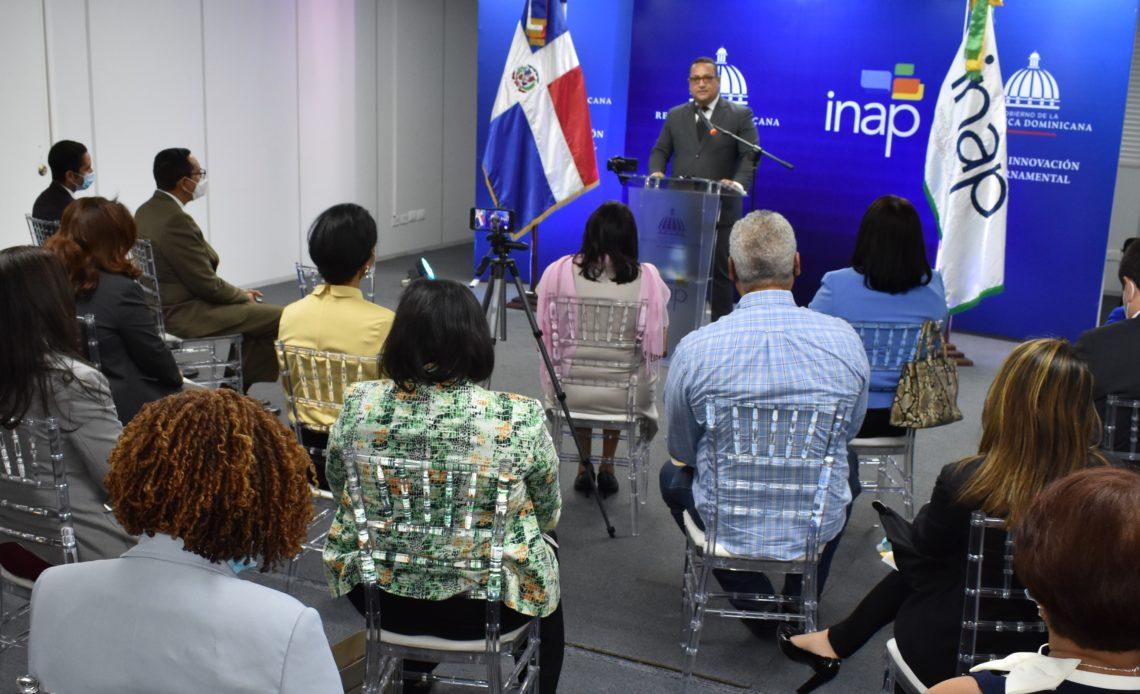 Director general del INAP, Cristian Sánchez Reyes