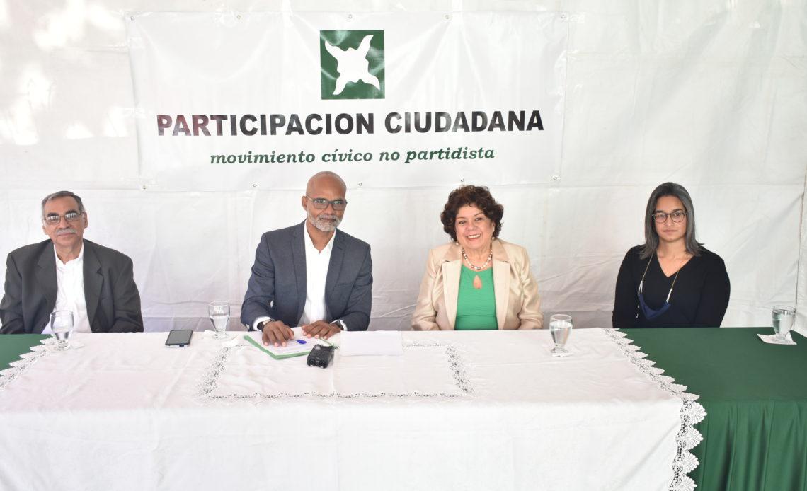 Integrantes del Consejo Nacional de Participación Ciudadana.