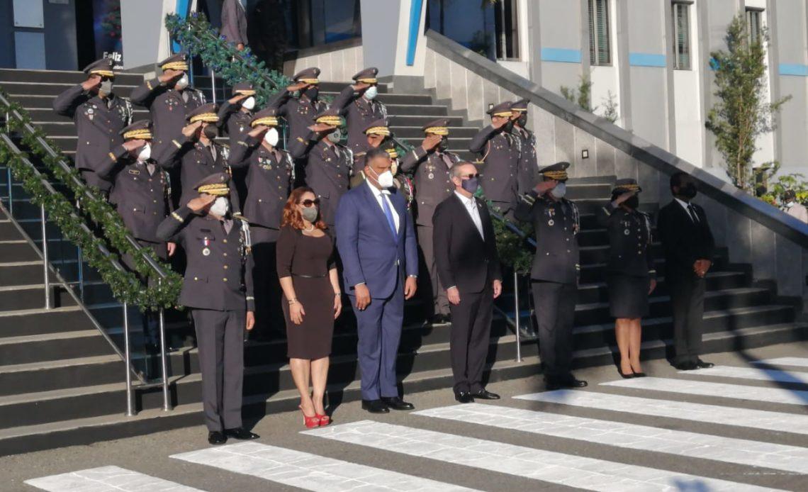 Abinader Palacio Policía Nacional.