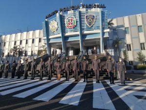 Altos mandos de la Policía Nacional.