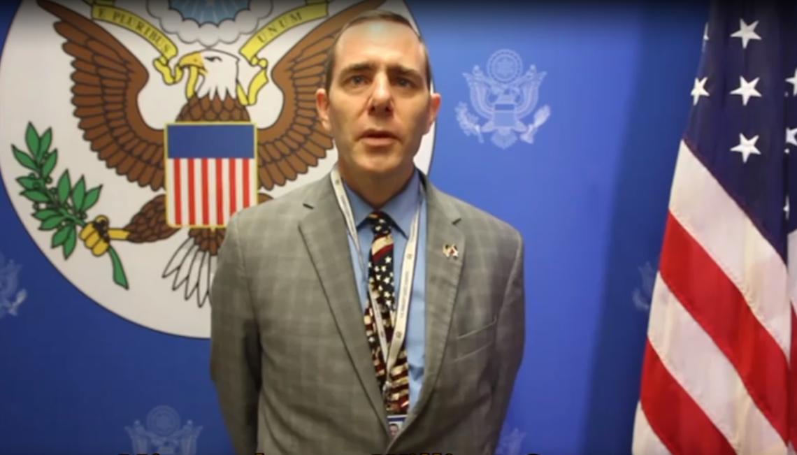 Cónsul USA en RD.