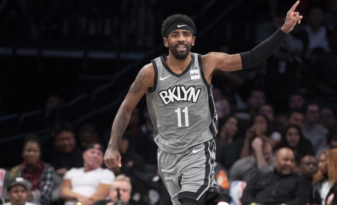 Kyre Irving, jugador de los Nets