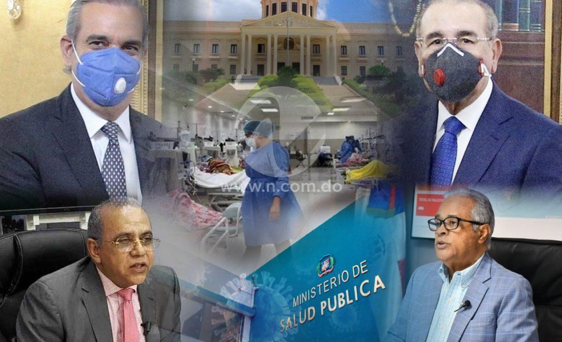 Manejo de la pandemia por las dos gestiones de gobierno en República Dominicana