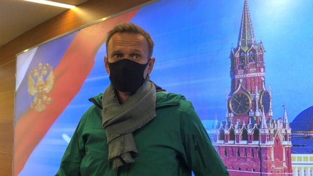 Nalvany, político ruso apresado