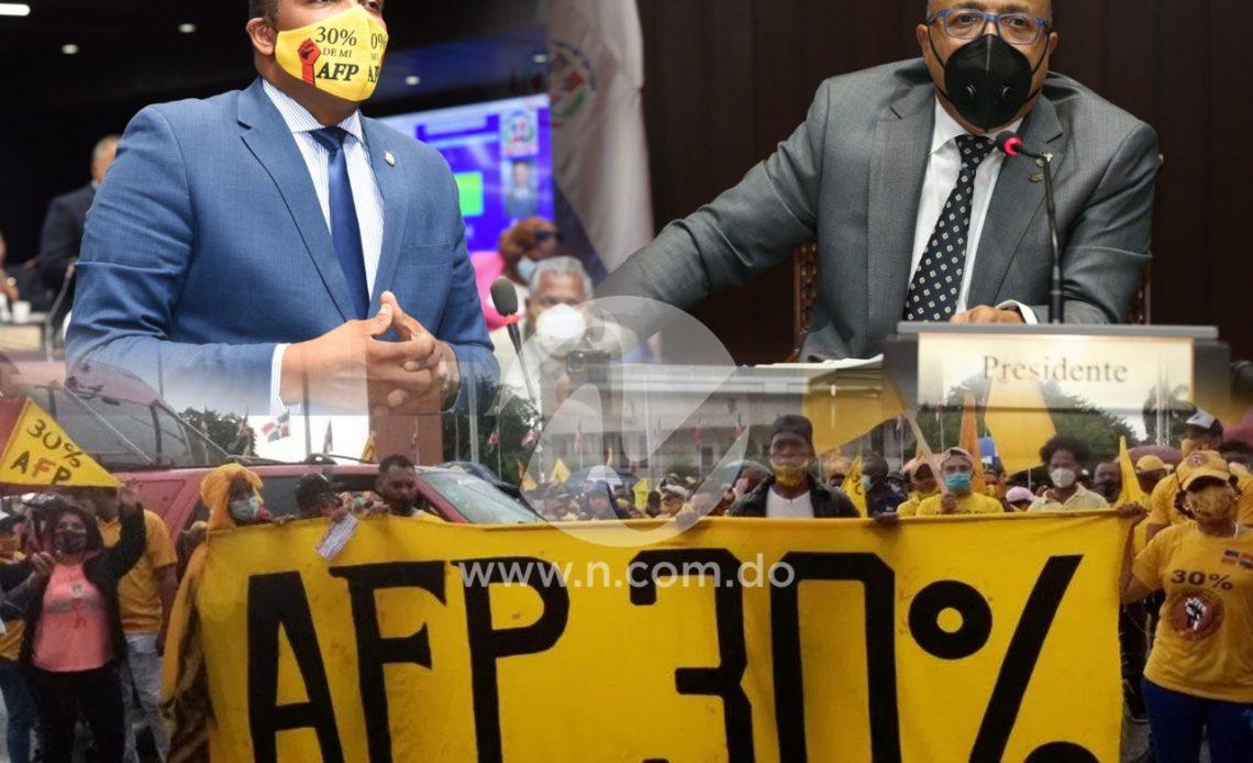 Diputados investigarán protestas a favor del 30% de las AFP
