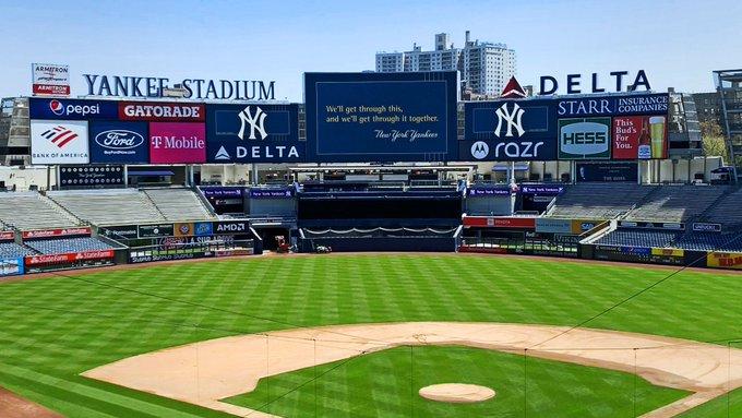 Imagen del Yankee Stadium vacío