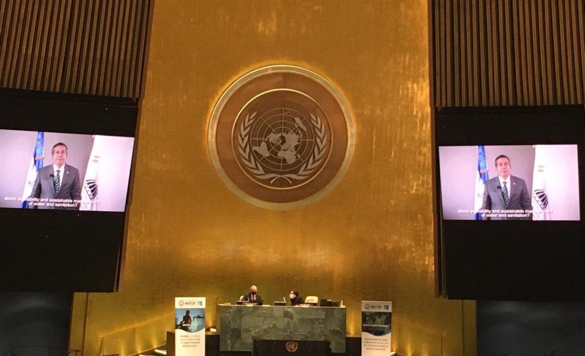 Orlando Jorge Mera en la ONU