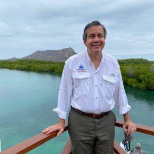 Ministro de Medioambiente, Orlando Jorge Mera.