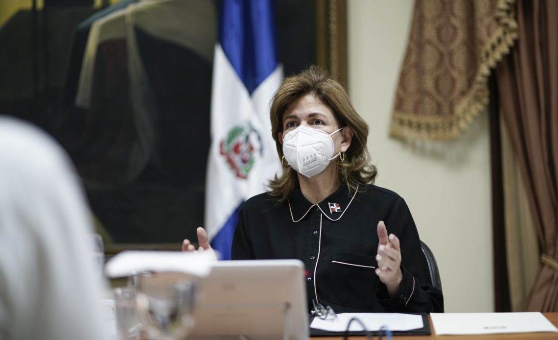 Raquel Peña. vicepresidenta.