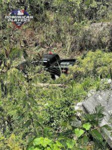 El vehículo se descarrilo en la autopista 6 de noviembre.