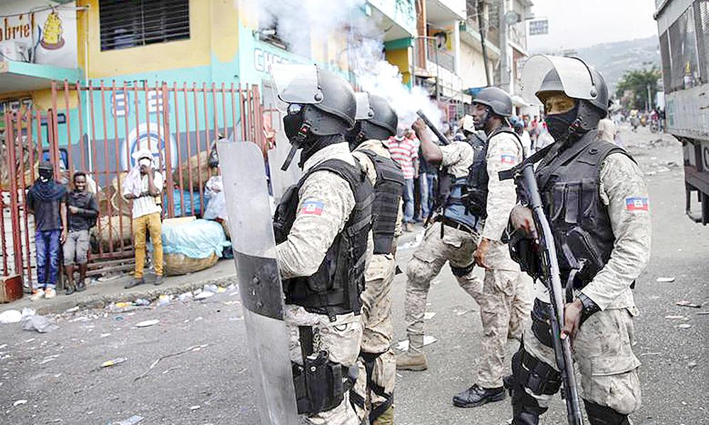policias-haitianos