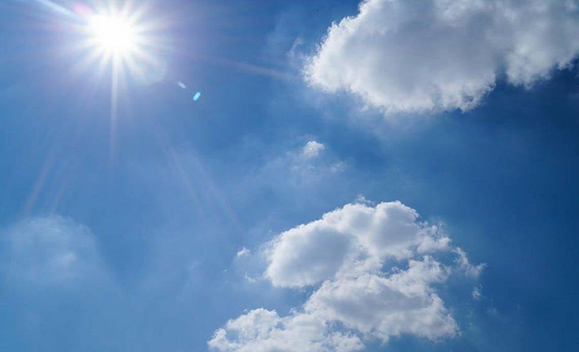 Cielo mayormente soleado durante el día este jueves