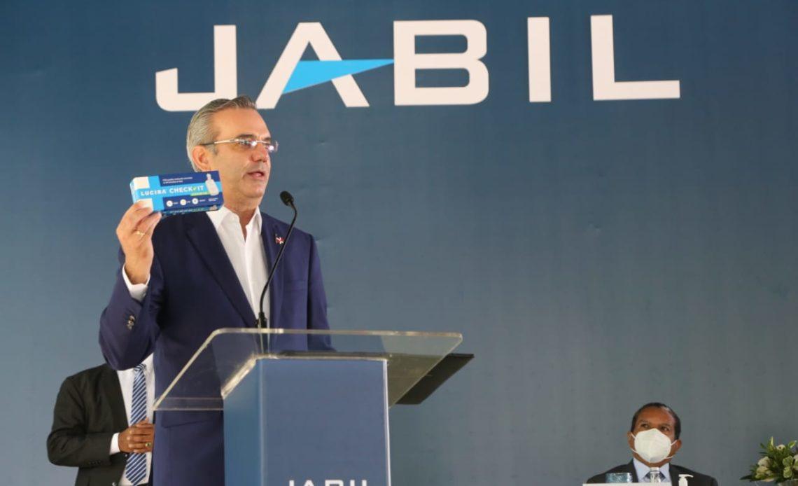 Abinader en inauguración de empresa fabricará pruebas pcr en el país