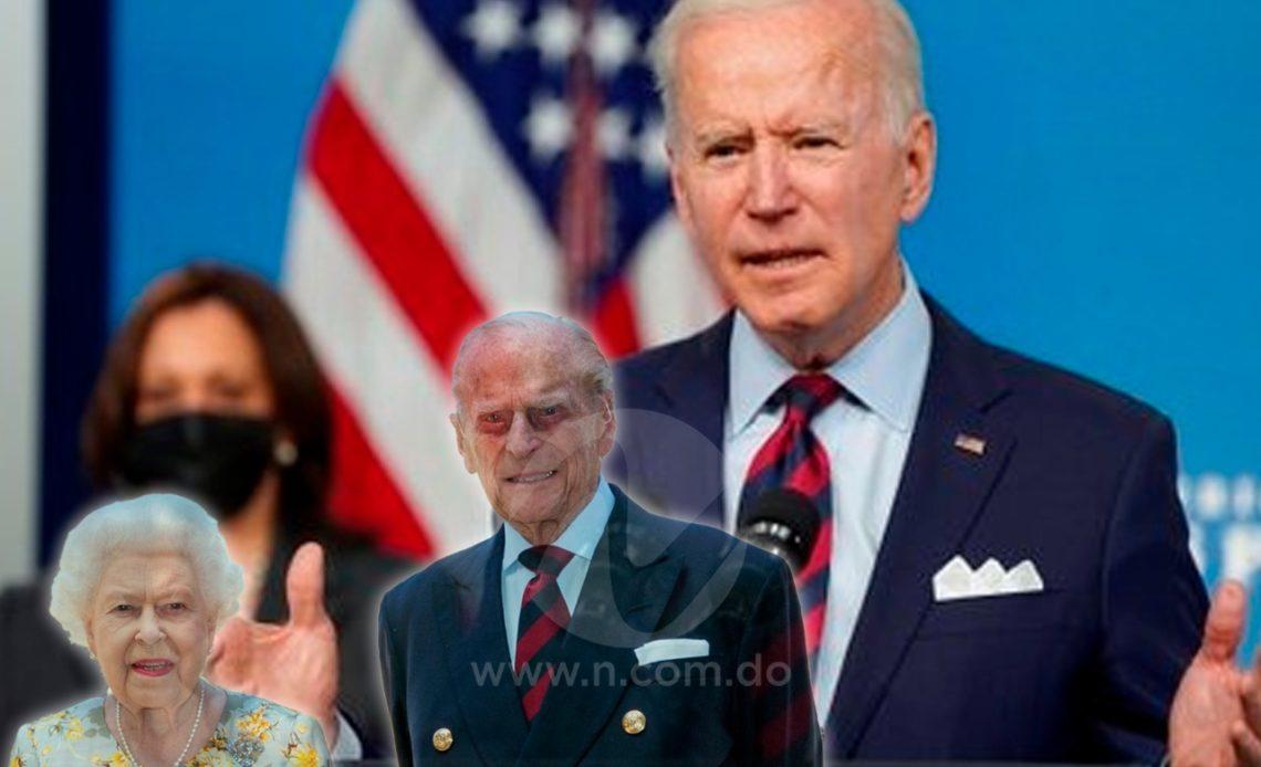 Biden y los reyes de Inglaterra