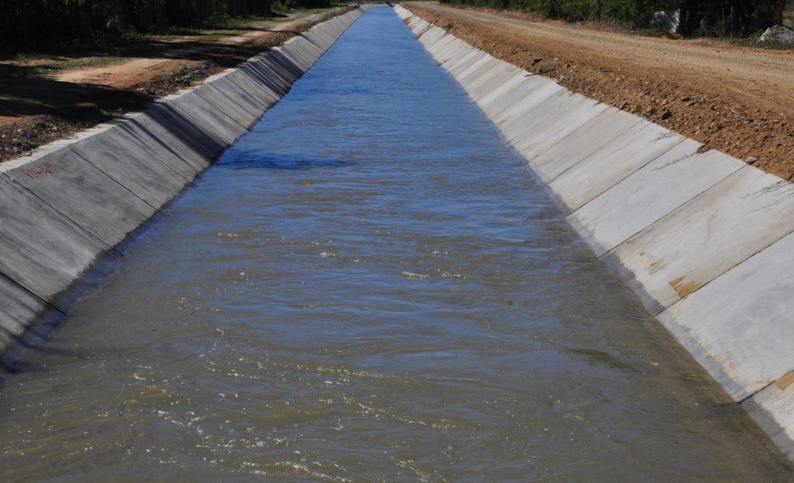 Canal Fernando Valerio en Montecristi