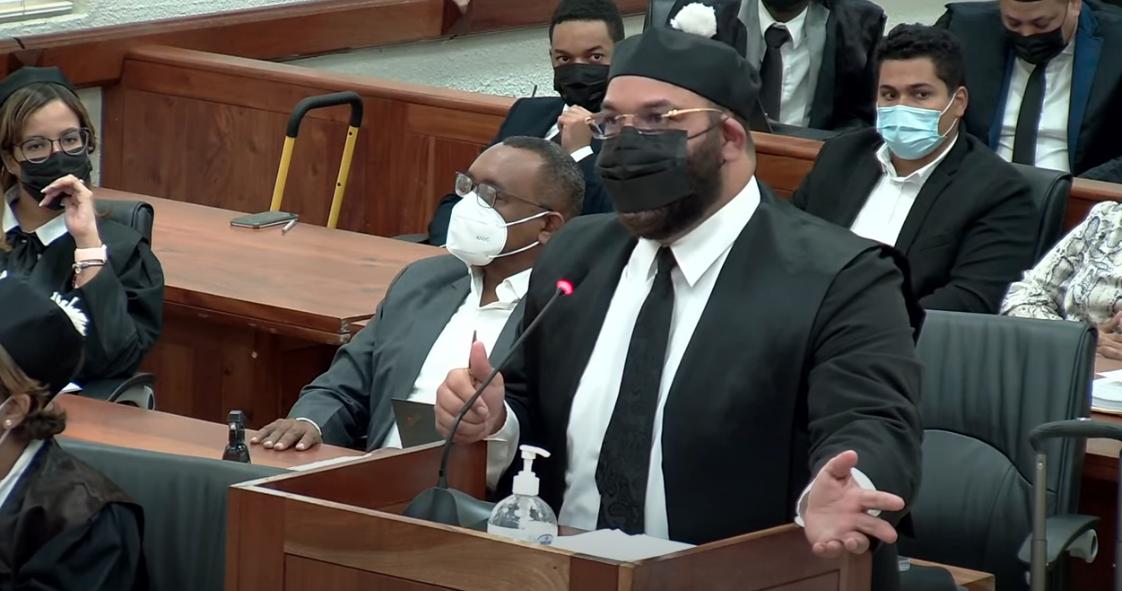 Félix Portes dice solo un imputado no se opone a que sea aplazado la solicitud de coerción