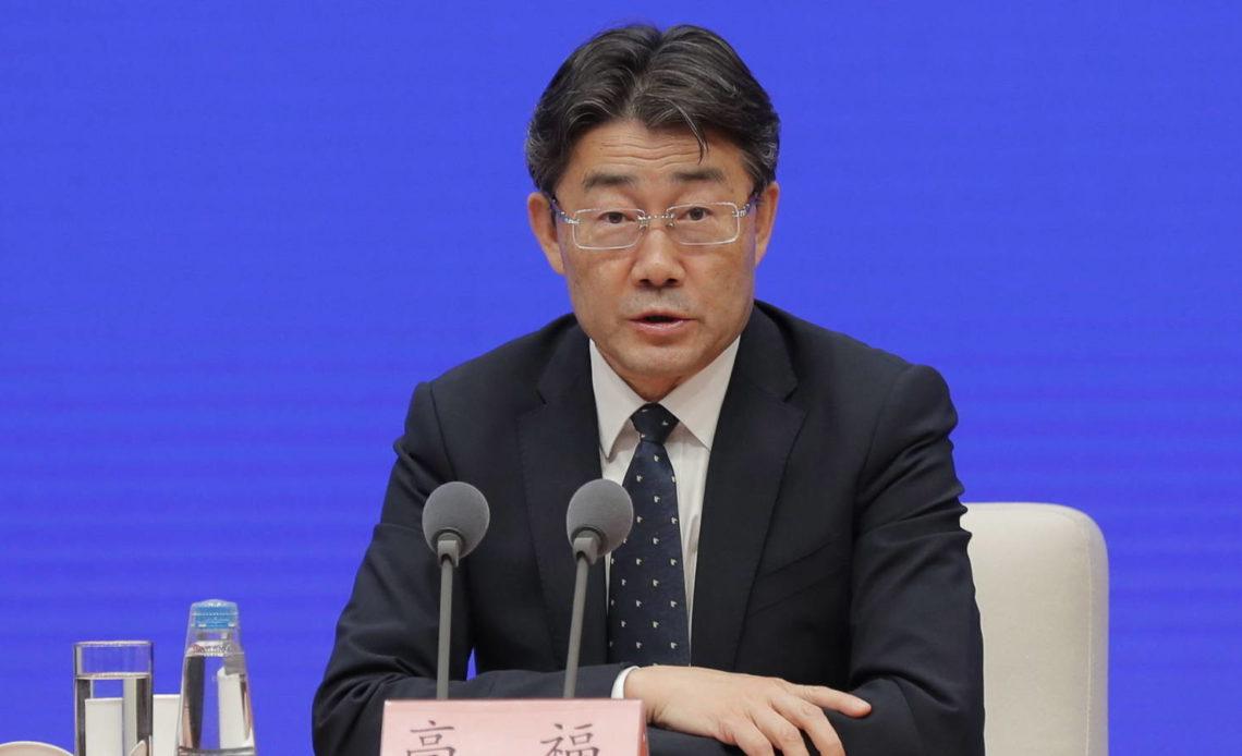 El virólogo Gao Fu