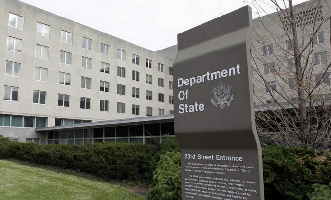 Estados Unidos, Departamento de Estaod