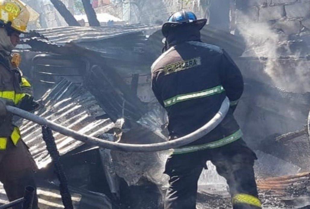 Incendio en San Carlos