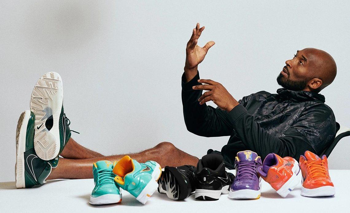 Kobe Bryant y sus nikes