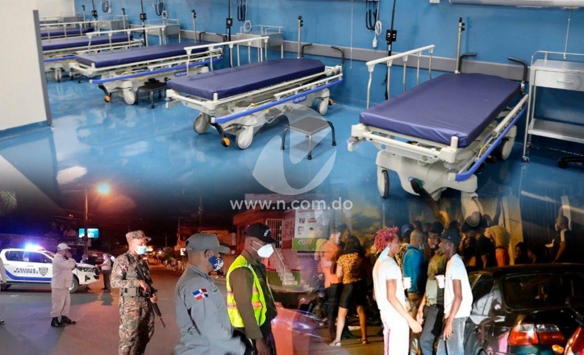 Ocupación hospitalaria toque de queda