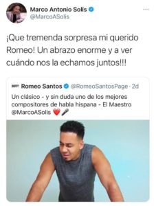 Twit de ´El Buki´a Romeo