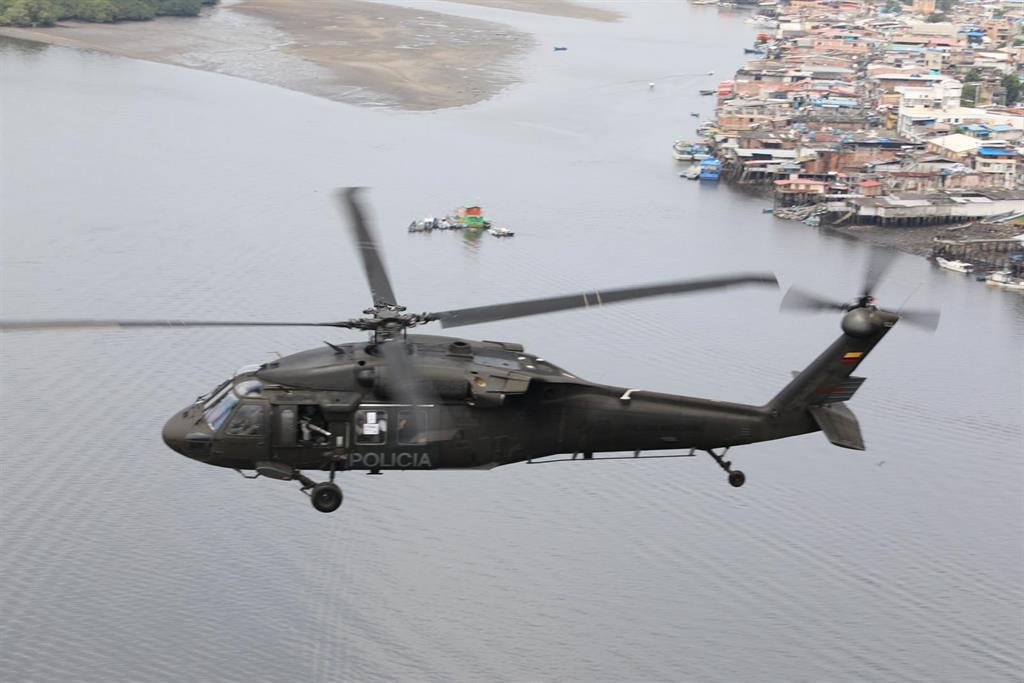 Cinco muertos al estrellarse un helicóptero de la Policía en Colombia