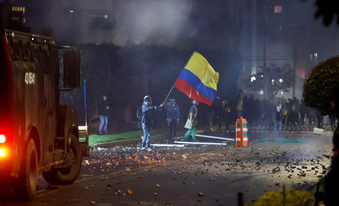 Colombia protestas.