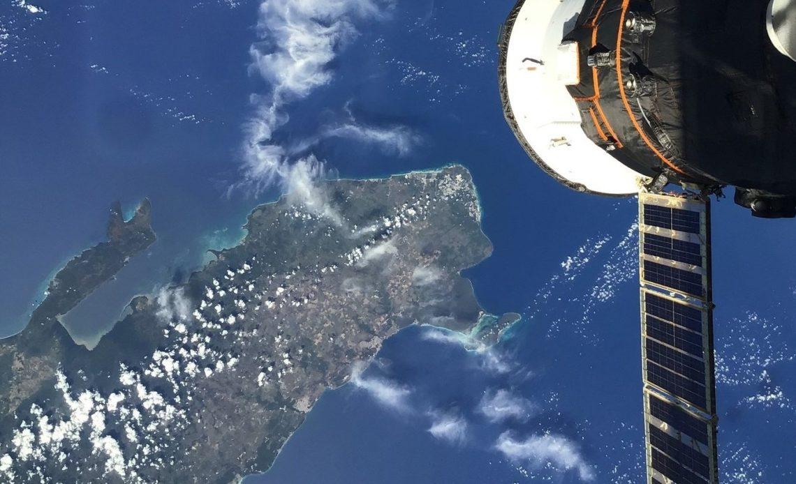 RD desde estación espacial.
