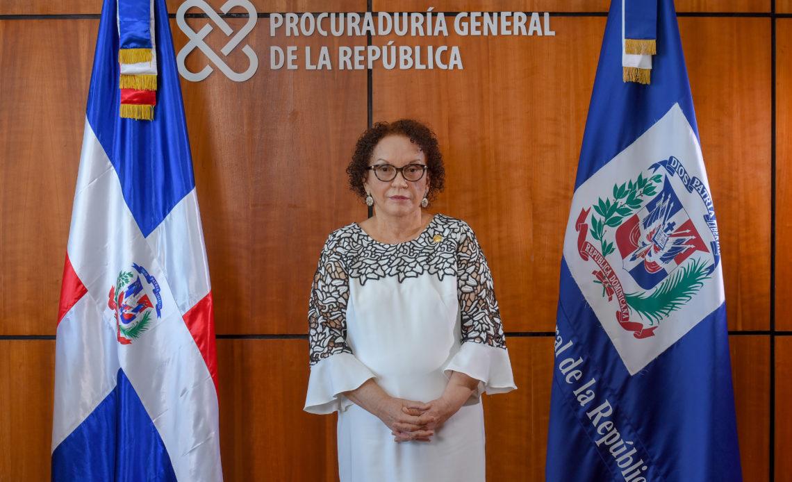 La procuradora Miriam Germán Brito