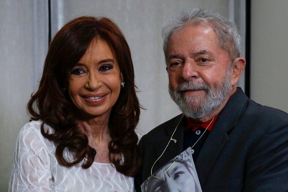 Lula da Silva y Cristina