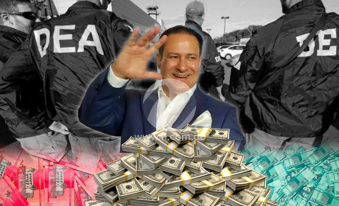 Miguel Gutiérrez, arrestado por narcotráfico