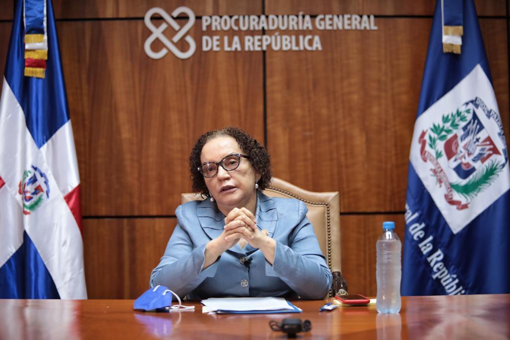 Procuradora Miriam Germán.