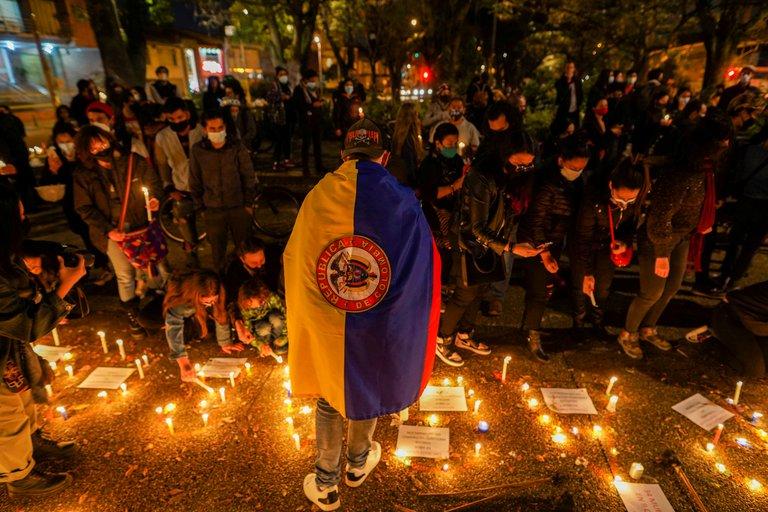 Reporte oficial de Colombia registra 548 desaparecidos y 26 muertos en 10 días de protestas