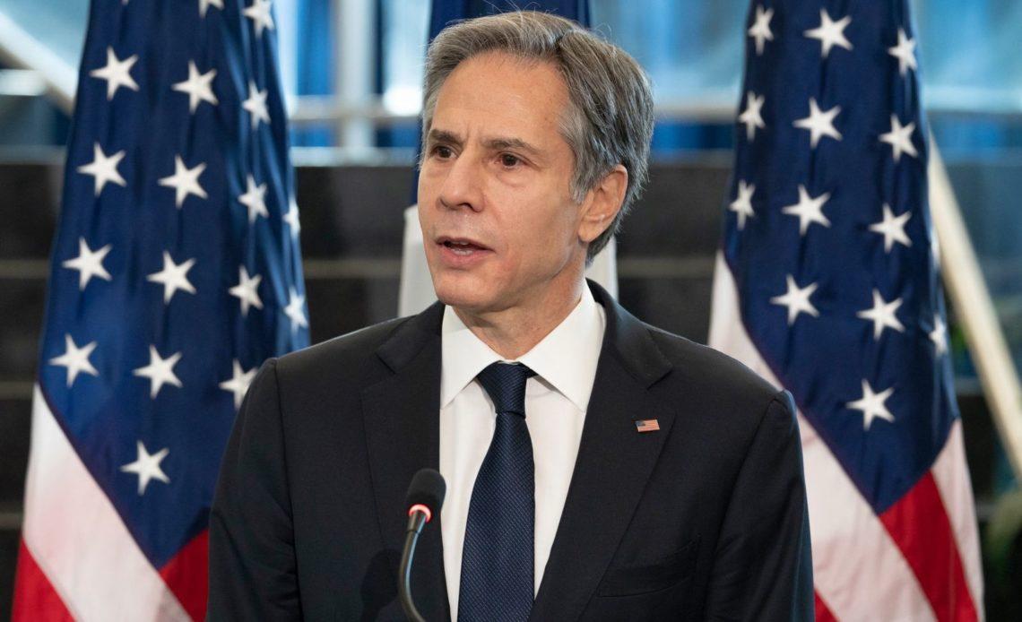 Secretario de Estado de EEUU Antony Blinken