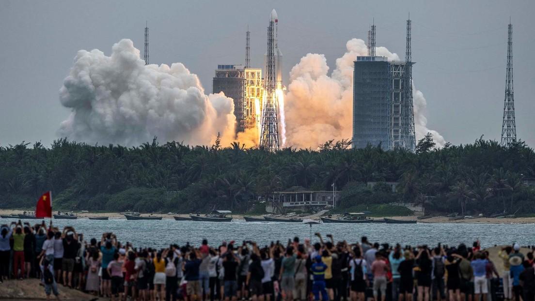 cohete chino Larga Marcha-5B Y2