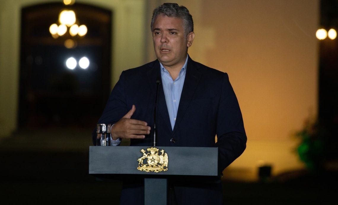 Duque reitera el compromiso de Colombia en la protección de migrantes