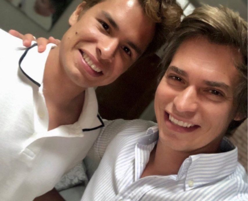 Carlos Baute e hijo