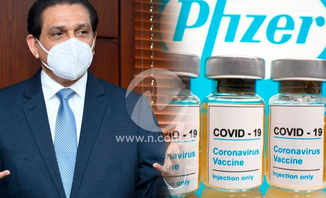 Daniel Rivera anuncia Pfizer