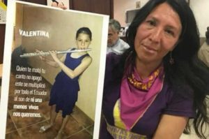 Estudiante asesinada, Sofía Valentina