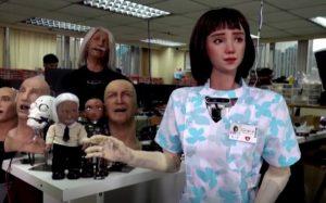Grace, primera robot enfermera